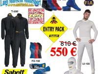 Kit Racing Clothing Sabelt 2017 offer