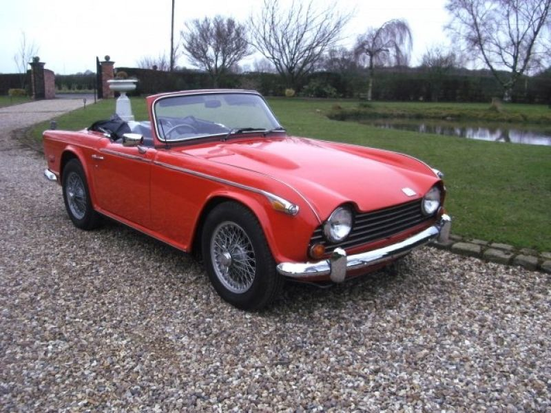 1968 Triumph TR250 for sale - Classic car ad from CollectionCar.com.