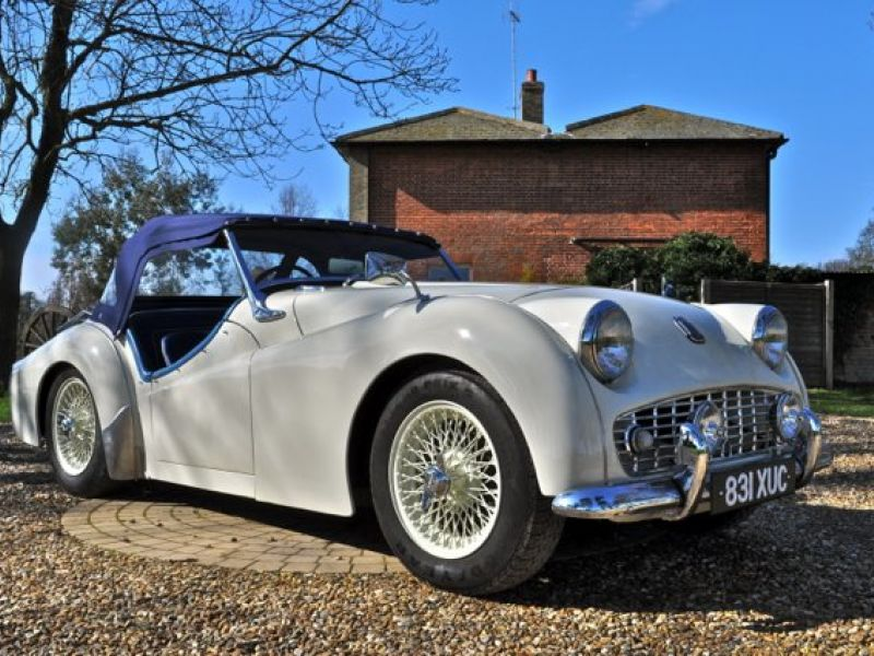Brand New Widemouth Grille for Triumph TR3 TR3A TR3B