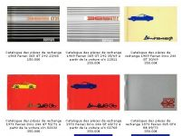 Ferrari spare parts catalogues for sale