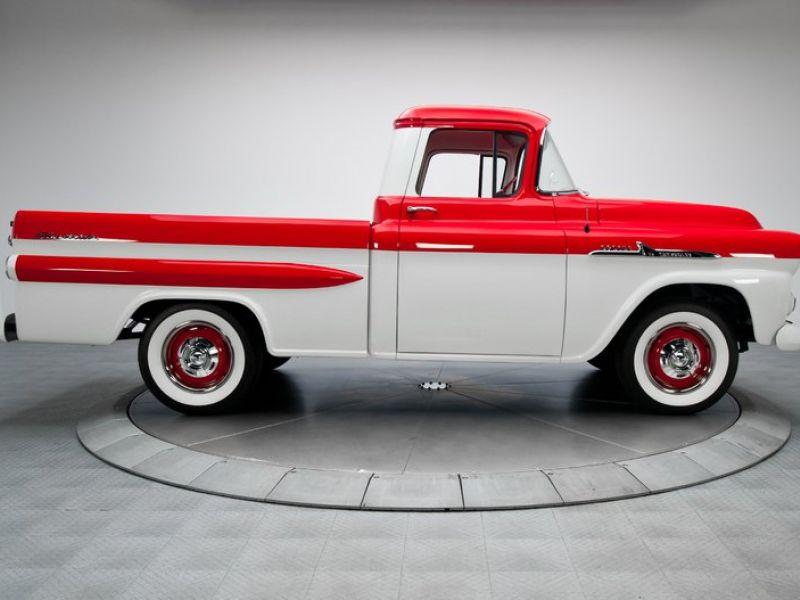 1958 Chevrolet Apache Te Koop Classic Car En Oldtimers Advertentie