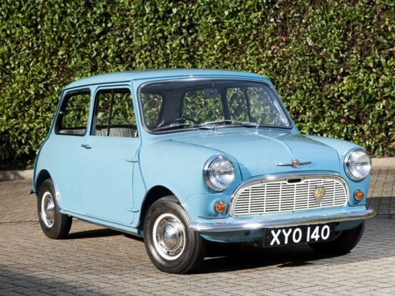 1960 Morris Mini Cooper Satılık Collectioncarcomdan Klasik Araba