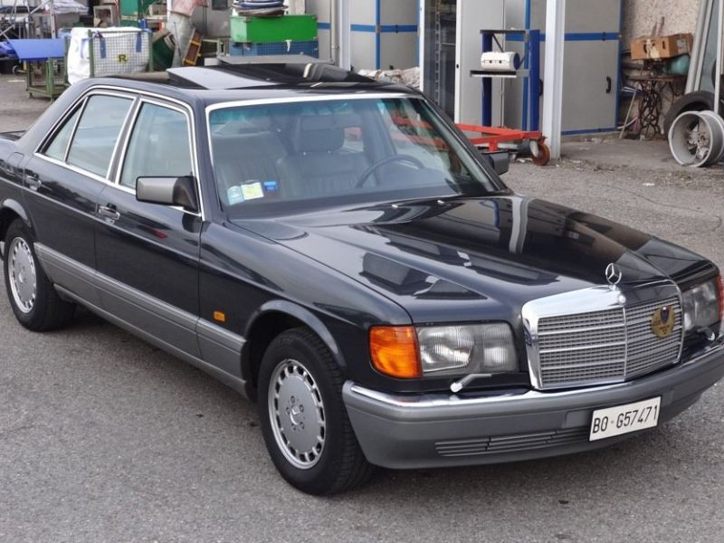 1988 mercedes benz 500se for sale classic car ad from for Mercedes benz 500se