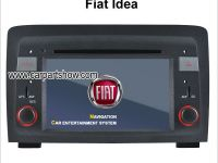 FIAT Idea Car stereo radio DVD GPS TV