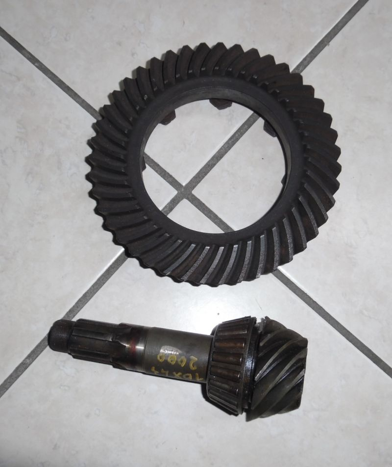 CROWN WHEEL&PINION 10X43 ALFA ROMEO 2000