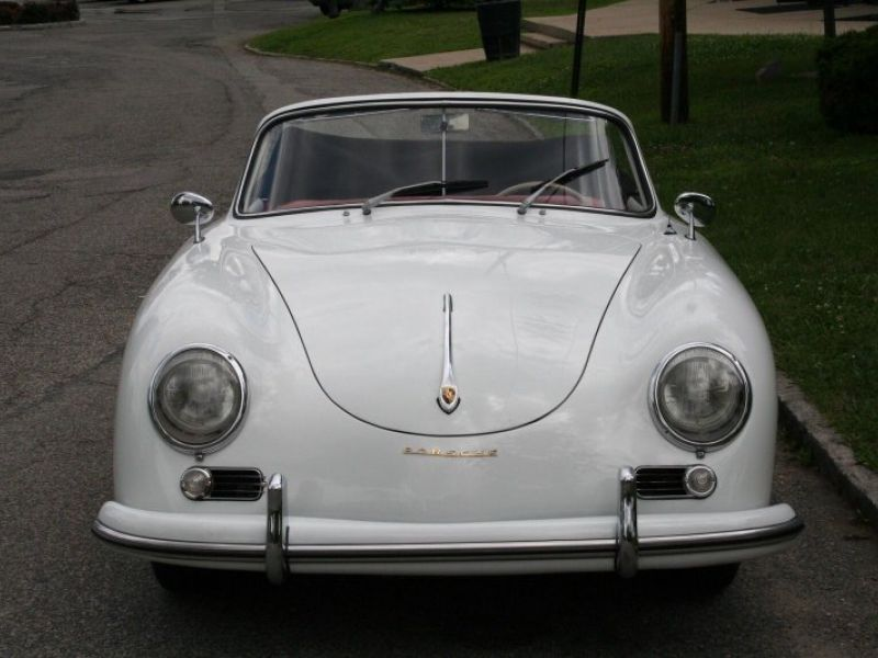 Accident Cars For Sale In Denmark: 1956 Porsche 356A Cabriolet For Sale