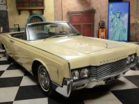 1966 Lincoln, Continental Convertible, Suicide Doors