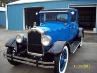 1927 Buick, Coupe