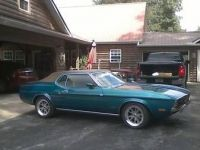 1972 Ford, Mustang