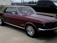 1968 Ford, Mustang