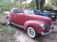 1940 Ford, Convertible