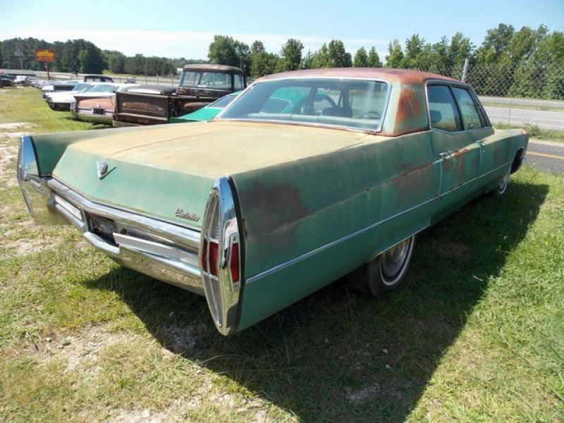 1968 cadillac sedan deville for sale classic car ad from. Black Bedroom Furniture Sets. Home Design Ideas