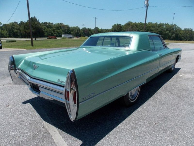 1968 cadillac coupe deville for sale classic car ad from. Black Bedroom Furniture Sets. Home Design Ideas
