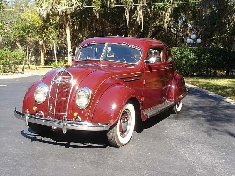 1935 Desoto Airflow For Sale Classic Car Ad From