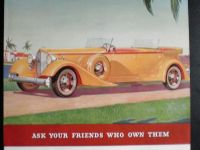 Vintage Car Advertising